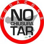 NO CHIUSURA TAR