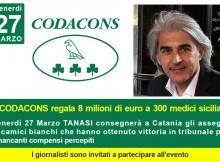 codacons sanità 8 milioni di euro