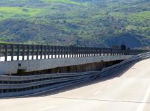 Cede pilone autostrada, sopralluogo per riapertura A19