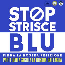 STOP STRISCE BLU