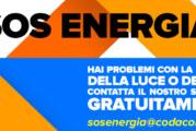 Hai problemi con la bolletta della LUCE o del GAS? Allora contatta gratuitamente il nuovo sportello del CODACONS – SOS ENERGIA
