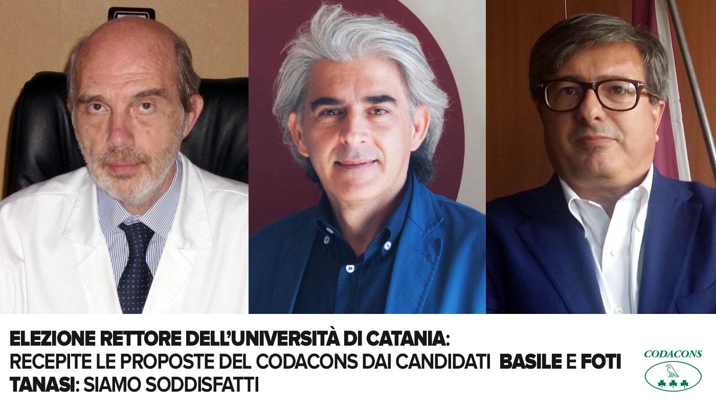 votazioni rettore ateneo catanese