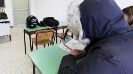 Pozzallo freddo scuola