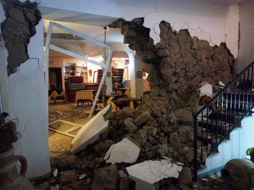 Terremoto Ischia danni