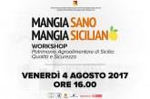 """Acireale: domani 4 agosto sarà presentata la guida per la conoscenza del patrimonio agroalimentare di sicilia """"mangia sano, mangia siciliano"""""""
