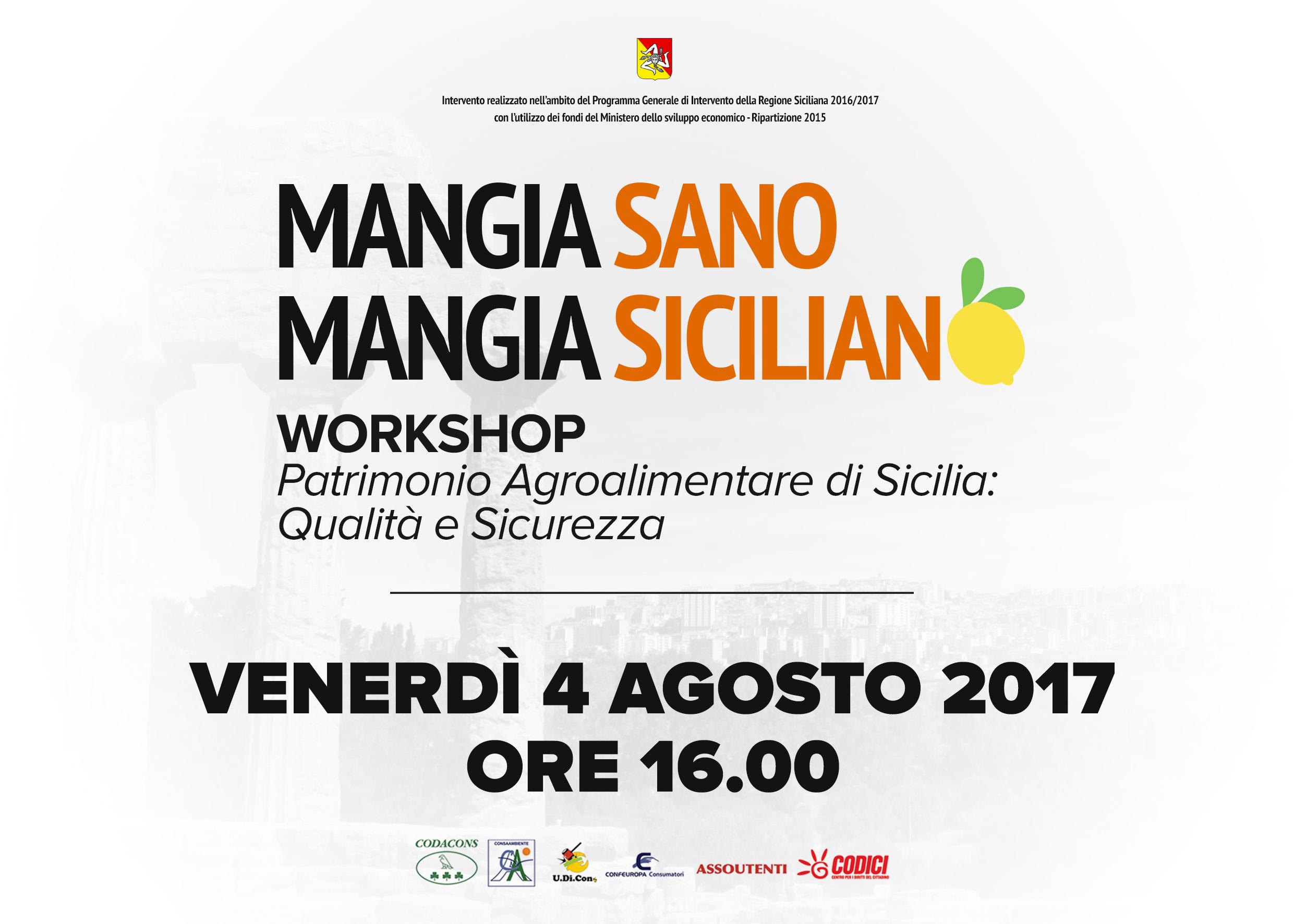 workshop mangia siciliano