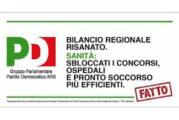 SICILIA: MESSAGGI FALSI SULLA SANITA' NEI MANIFESTI ELETTORALI PD