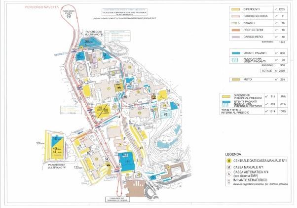 Catania nodo parcheggio policlinico