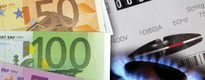 Rincari tariffe gas luce