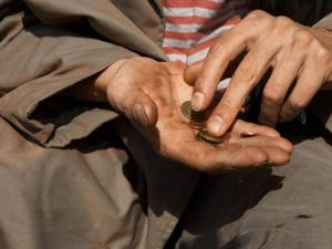 Rischio povertà Italia