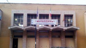Istituto Quintiliano caduta calcinacci