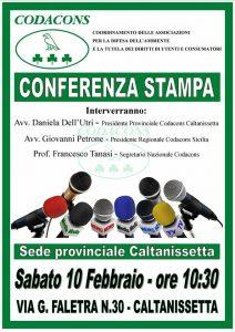 Conferenza stampa Caltanissetta
