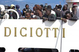Migranti Diciotti Sicilia