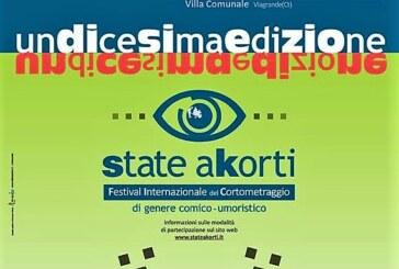 XI edizione di State aKorti, Festival internazionale del cortometraggio comico-umoristico