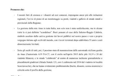 """Figuccia bacchetta l'Anas: """"mai più nuove Genova"""""""