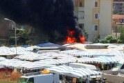 Paura nel nisseno: esplode una bombola di gas al mercatino di Gela