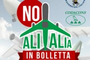"""Catania: nasce Comitato di protesta """"SALVARE ALITALIA CON LE NOSTRE BOLLETTE? NO!"""""""