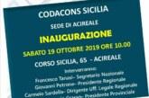 Inaugurazione sede di Acireale