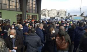 Catania Hub attese vaccini